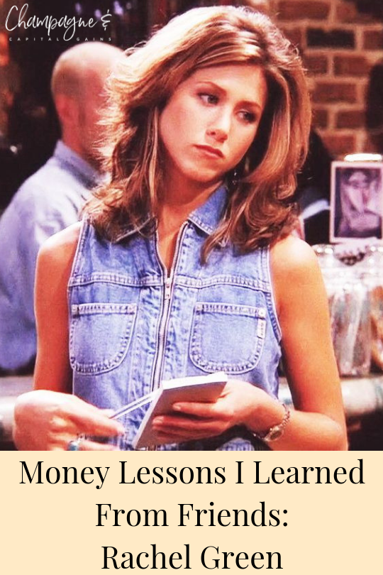 Rachel Green waitress broke girl