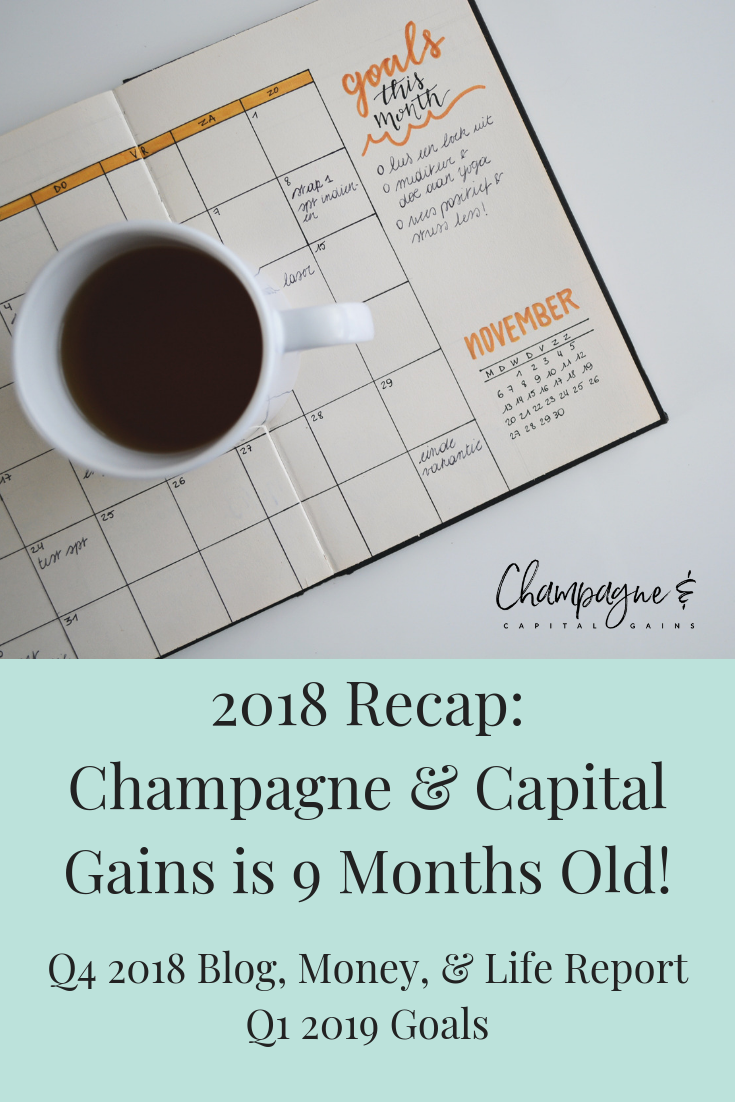 2018 recap of Champagne & Capital Gains
