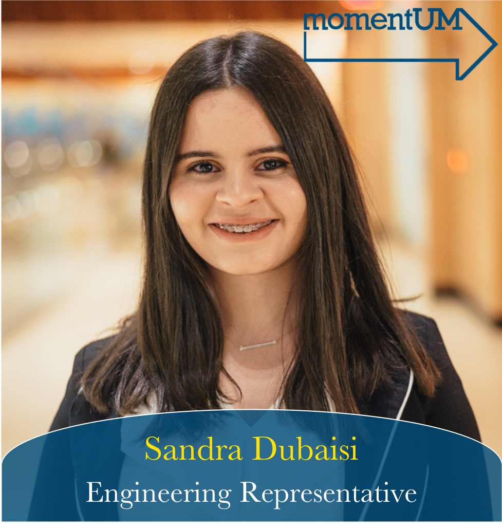 Sandra has always been passionate about issues relating to campus climate and increasing representation among people of different races, ethnicities, gender, sexuality, and neurodiversity. She is also a proponent for housing affordability for students of lower socioeconomic status on campus, especially with the rise of apartment prices and lack of tenant support.
