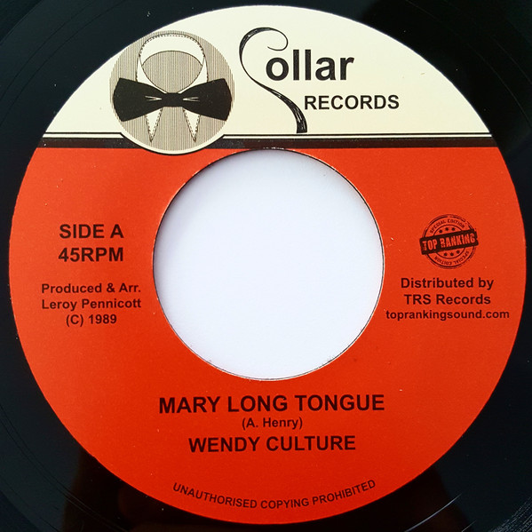 Wendy Culture - Mary Long Tongue
