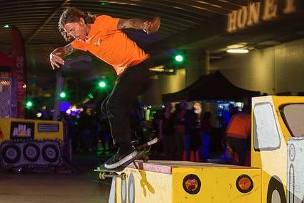 Flash back Friday to a couple weeks ago when we had the SkateAble Road Crew set up at Ubahn fest 📷🎞Photos by the one and only @drbassphoto