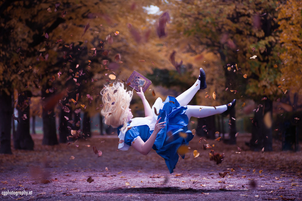 Photo:  Falling Down The Hole - Alice in Wonderland by Cornelia Gillmann