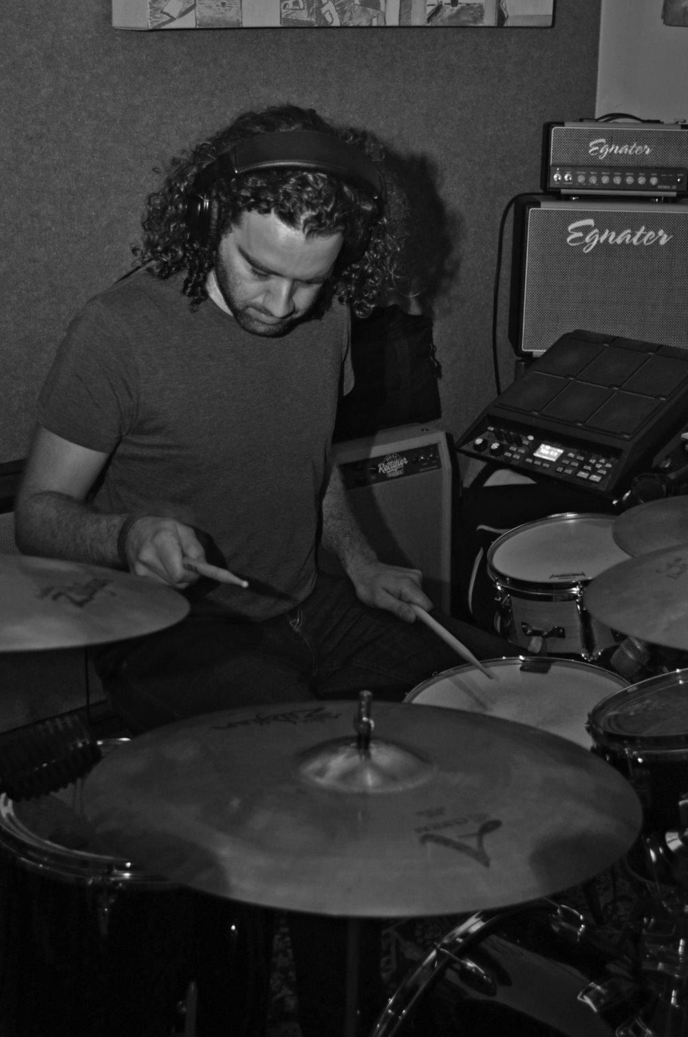 ENRIQUE DOMINGUEZ - Drums