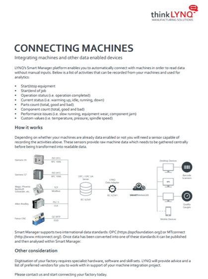 Learn more  about connecting your facilities machines with LYNQ.
