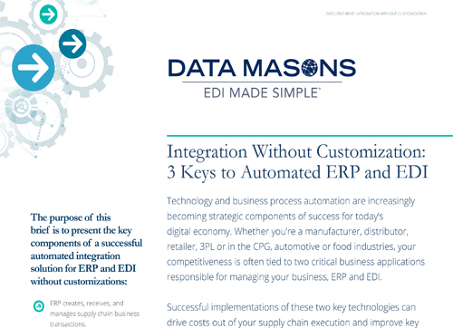 datamason's  3 Keys to automated erp and edi -