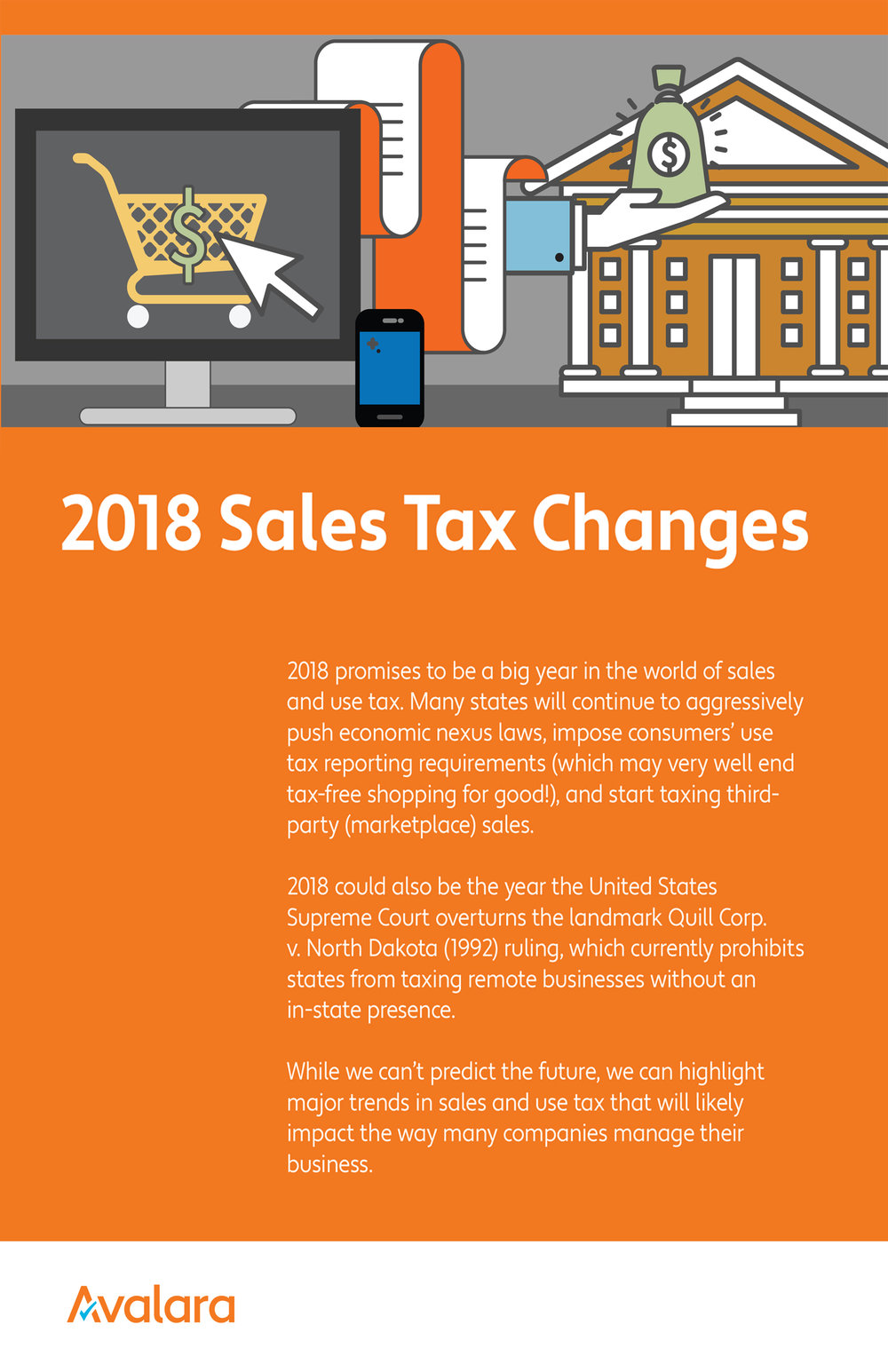 avalara 2018 Sales tax changes -