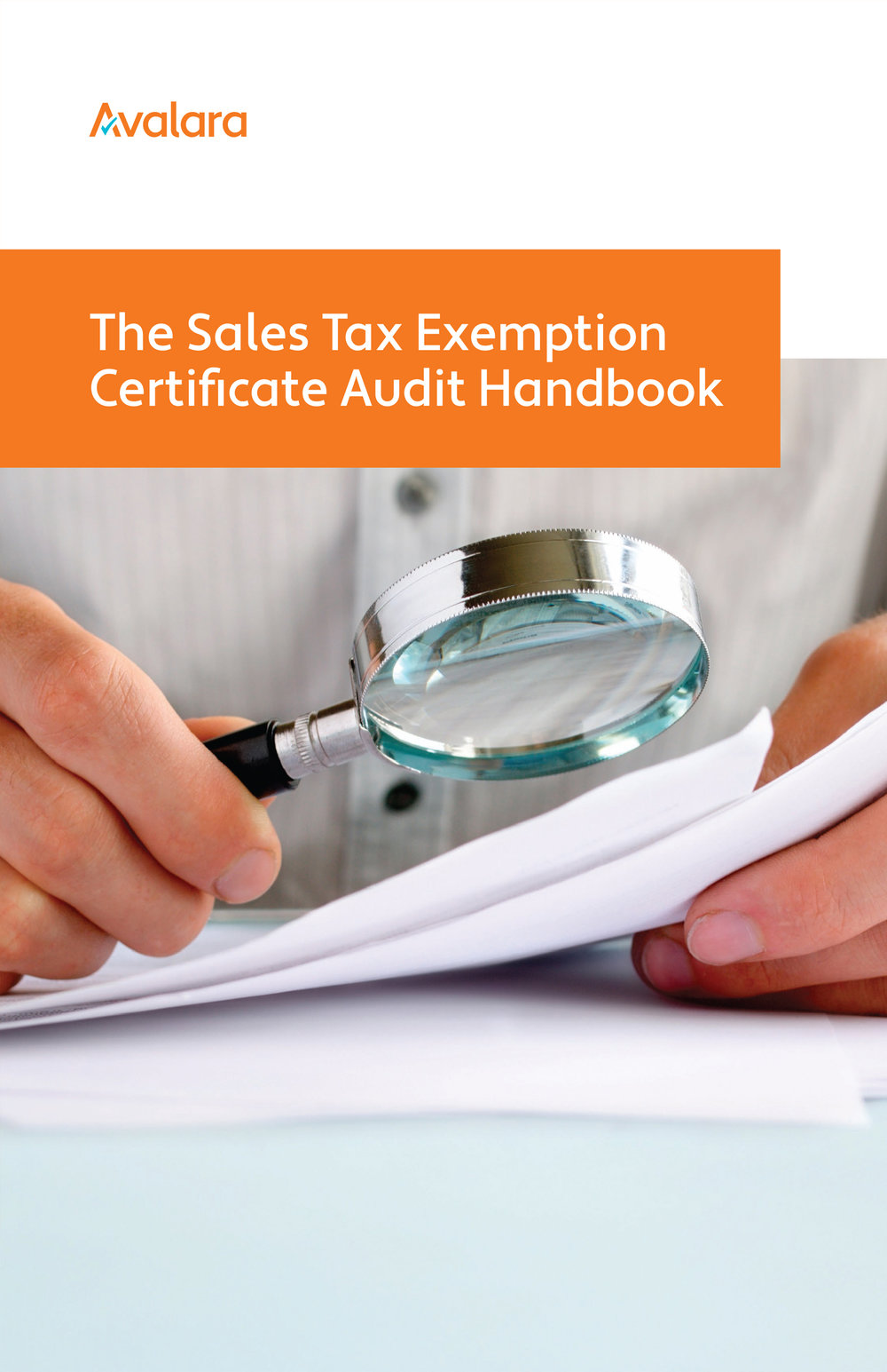 AVALARA SALES TAX EXEMPTION CERTIFICATE AUDIT HANDBOOK -