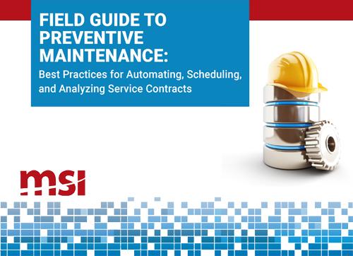 msi field guide to preventive maintenance -