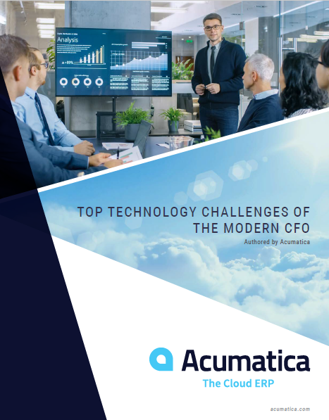 Acumatica: Top technology challenges of the modern cfo -