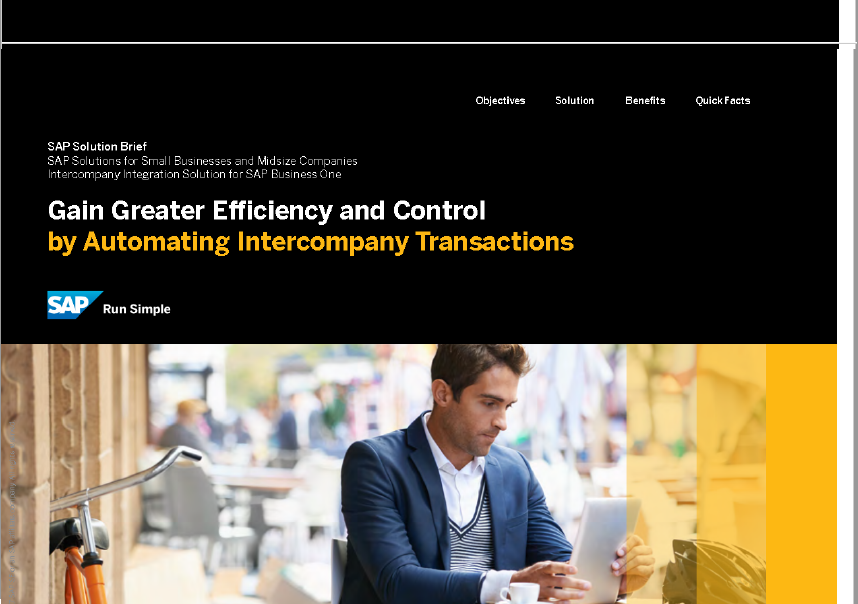 GREATER EFFICIENCY & CONTROL -