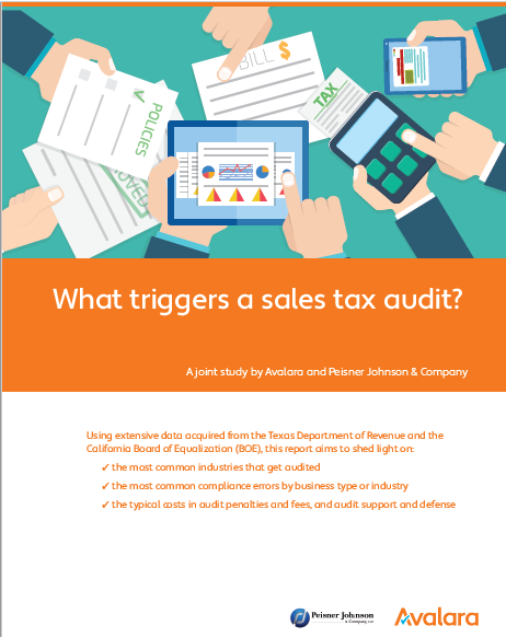 avalara's sales tax audit trigger -