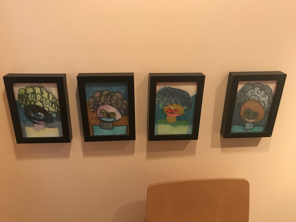 Awesome drawings, $20