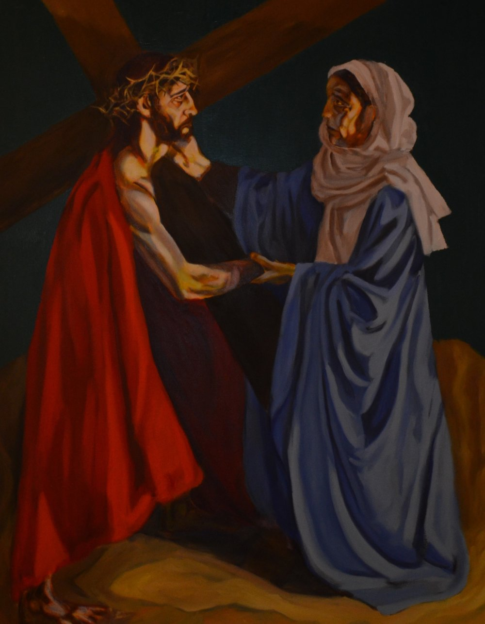 Jesus meets his mother.jpg