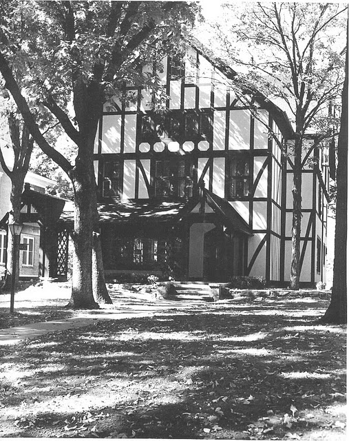 The original house, built in 1875, remodeled in 1927
