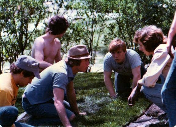1977 Pledge Project-New Lawn