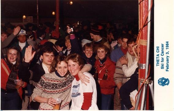1984 Psi Ski for Cancer