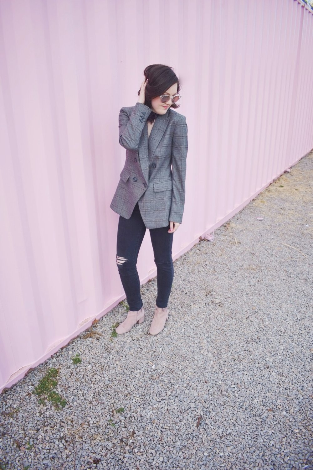This outfit is perfect for work or getting drinks with the girls!