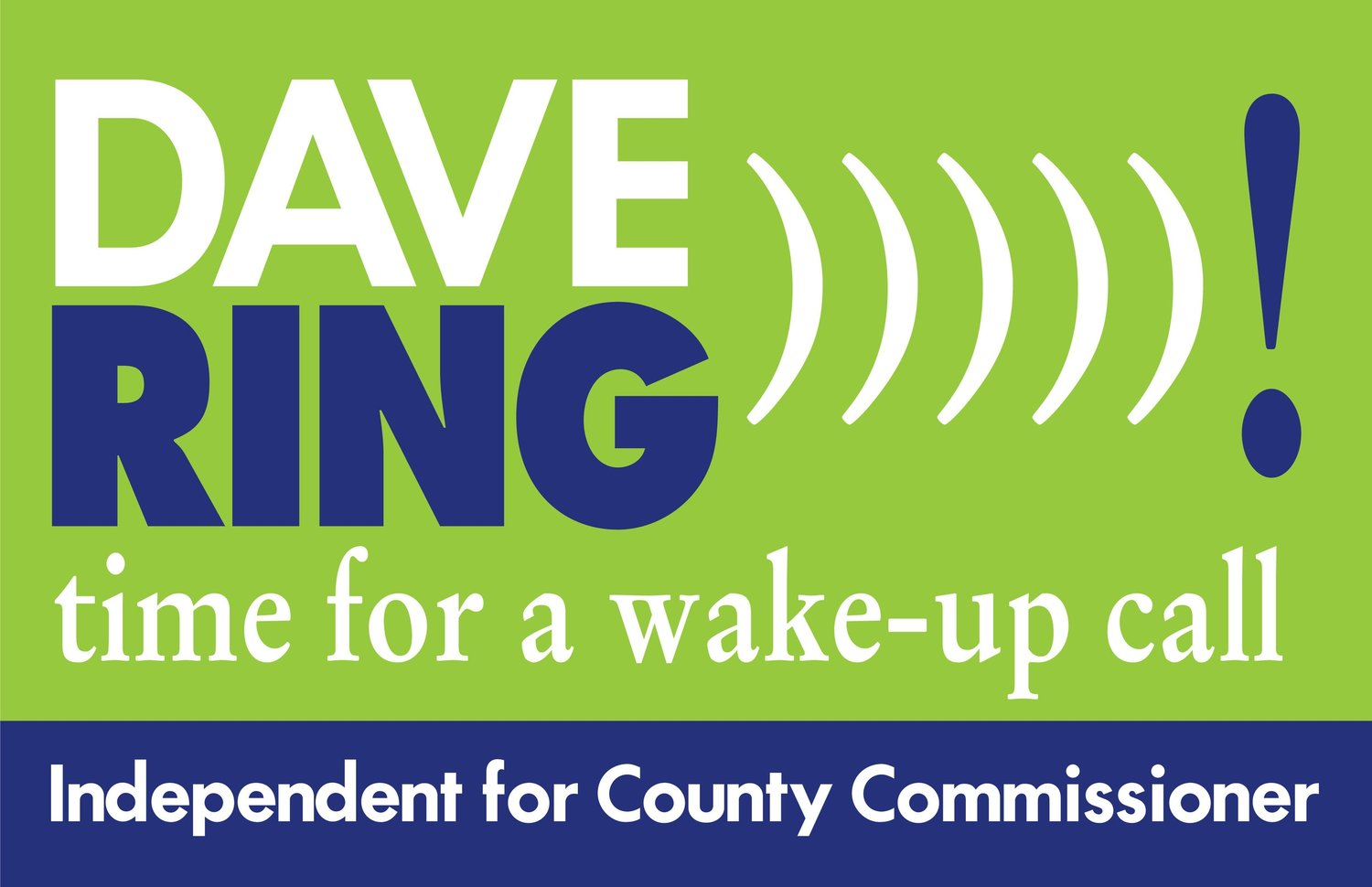 Dave Ring for Delaware County Commissioner