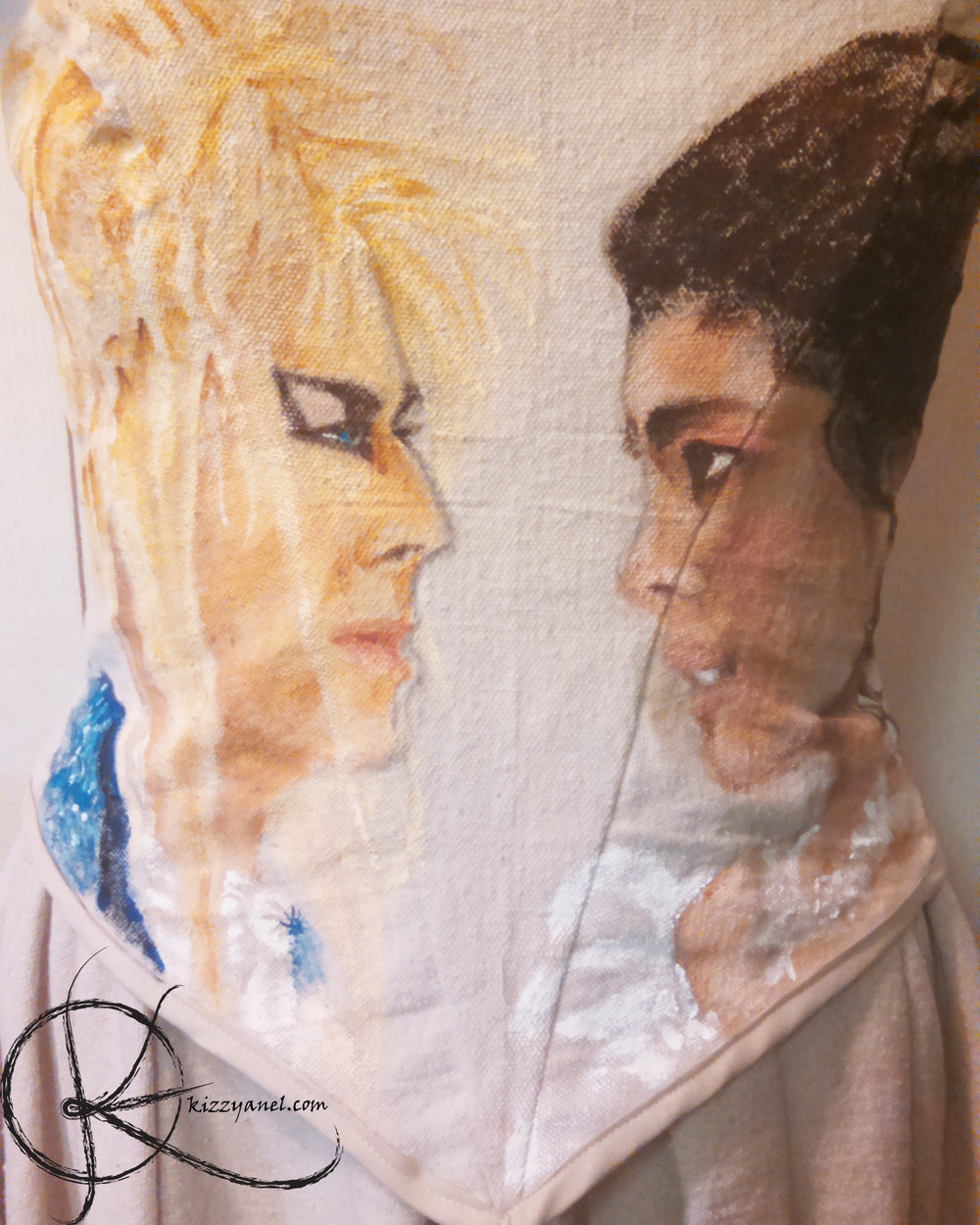 Bodice WIP 4: Jareth and Sarah complete