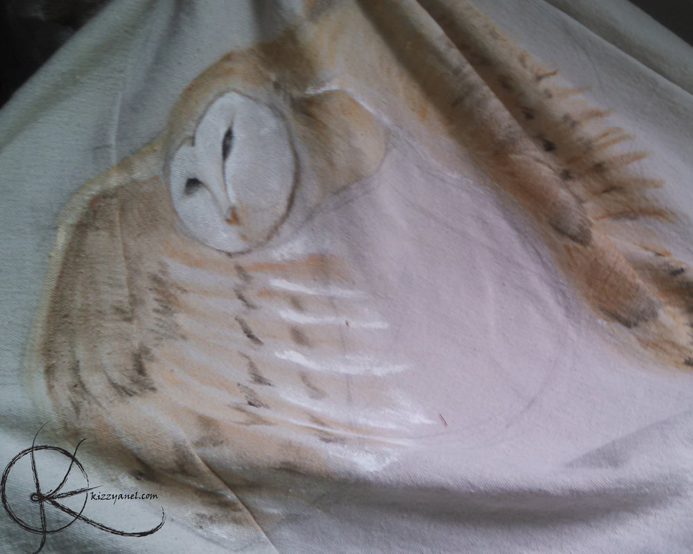 Skirt WIP 1: Owl