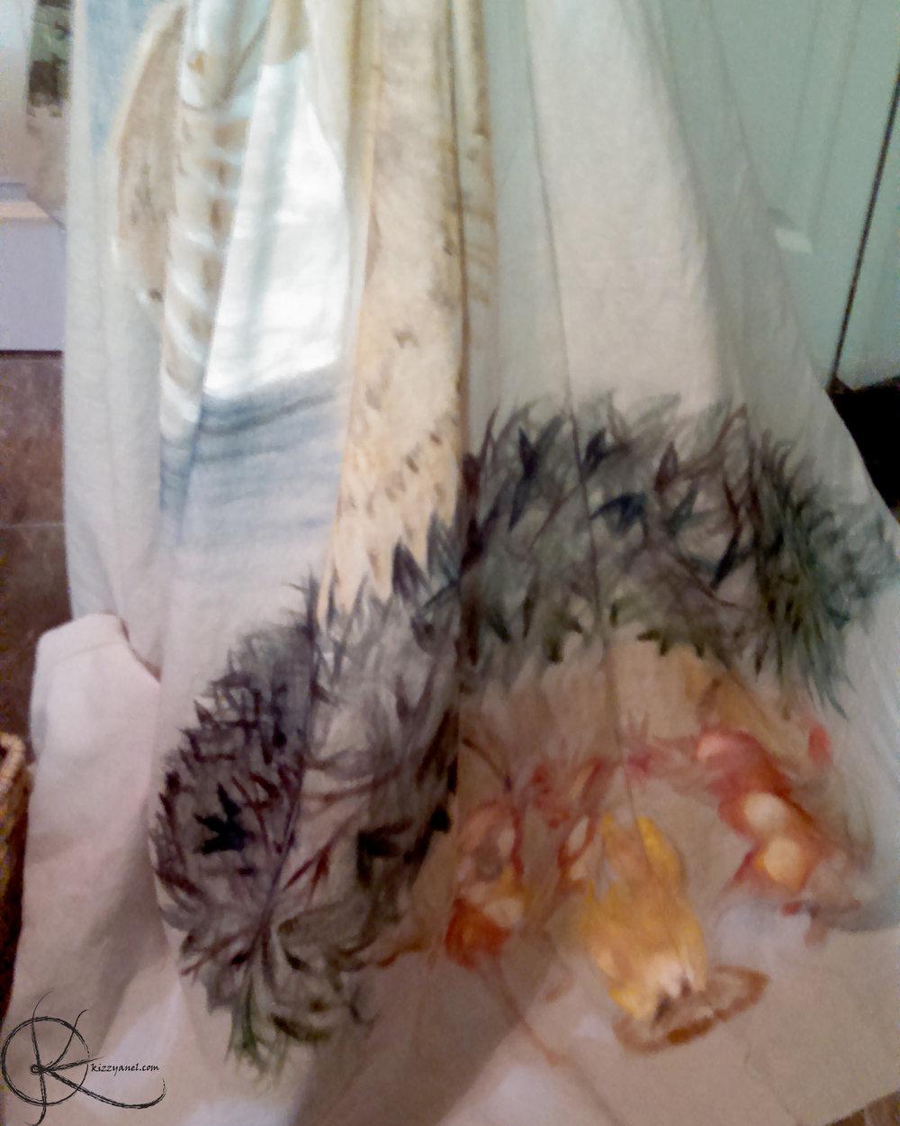 Skirt WIP 3: Fireys