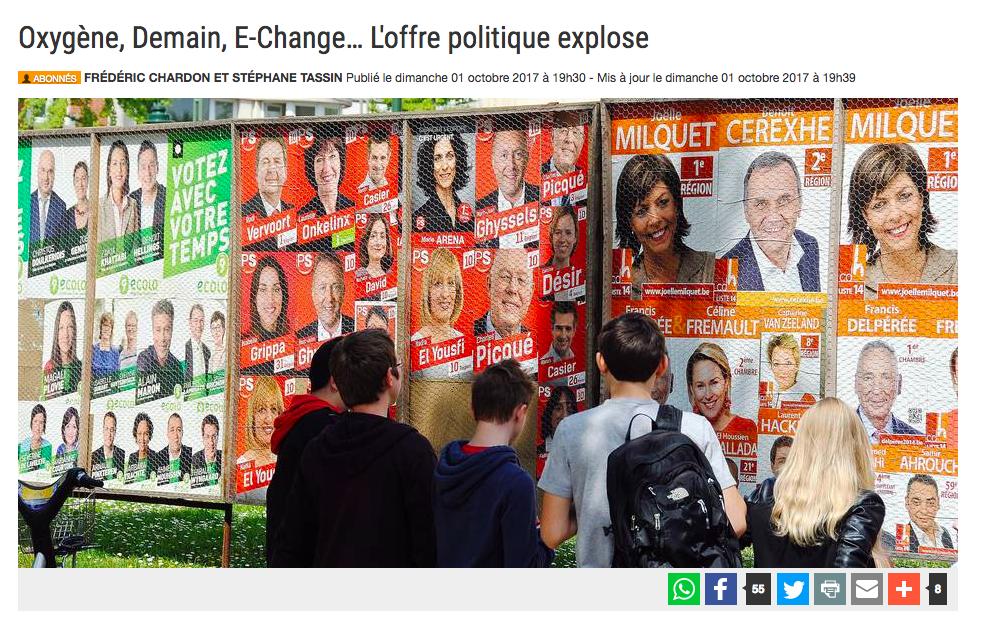 La Libre Belgique, 01.10.2017