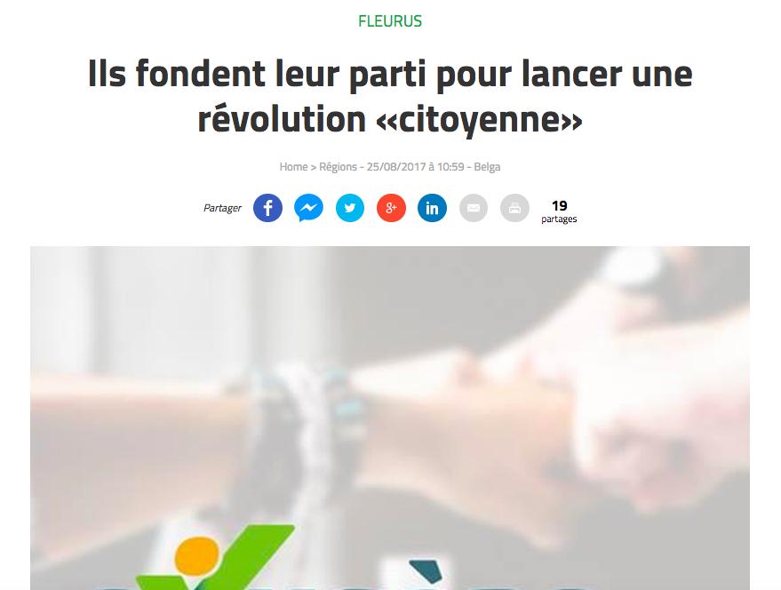 Vers l'Avenir, 25.08.2017