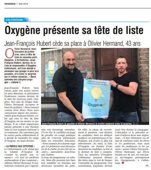La Province, 11.05.2018