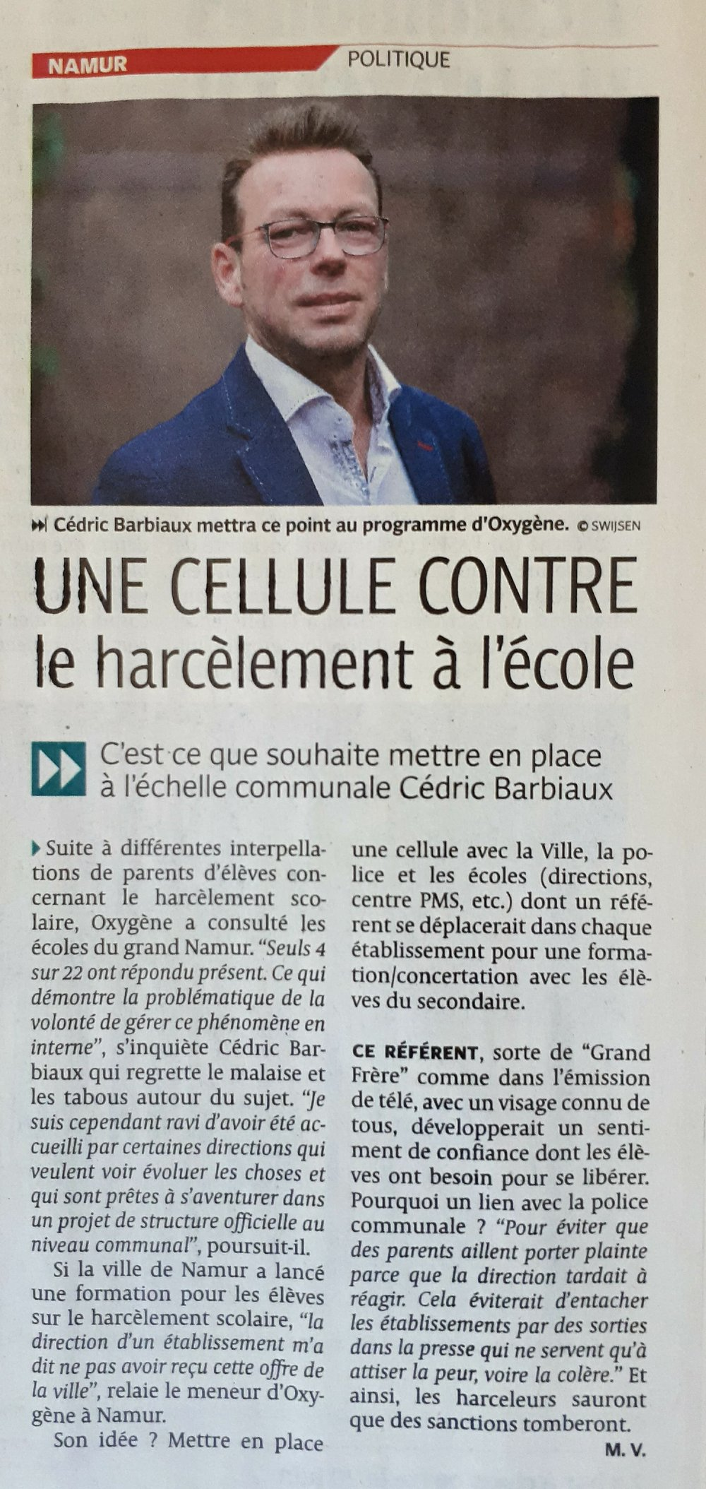 La DH/Les Sports, 22.05.2018