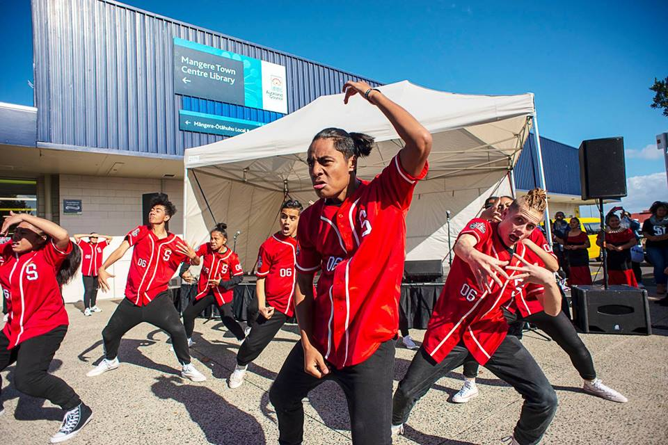 SUPA - SaintzUp Performing Arts Trust  at  Māngere Love Finale Concert  Photo courtesy of Raymond Sagapolutele