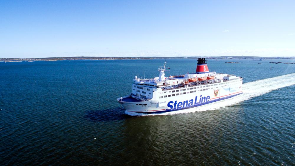 Stena Line - publik webb med sikte på horisonten
