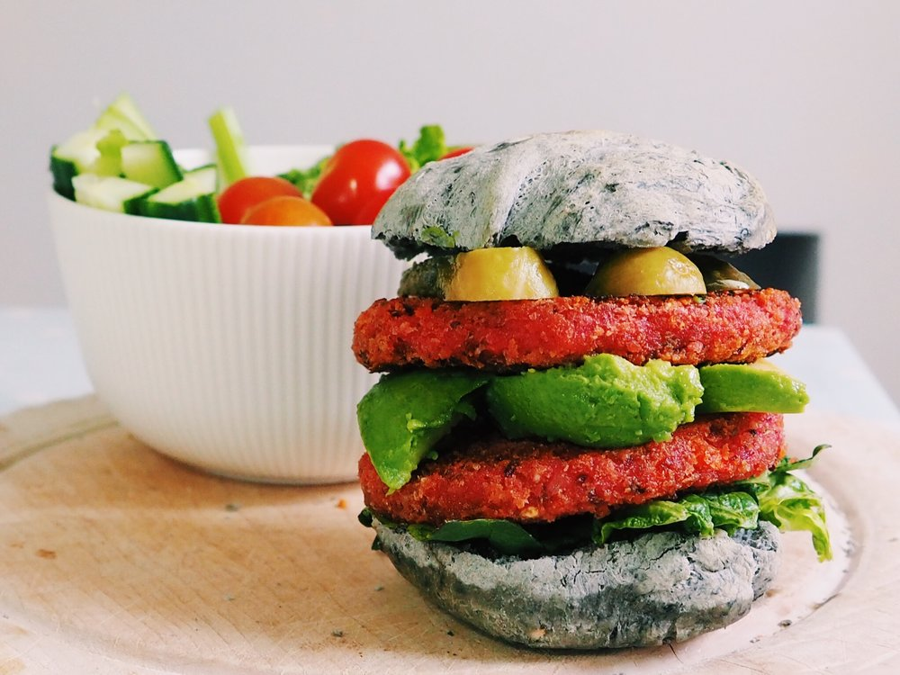 Strong Roots Beetroot and Bean Burger