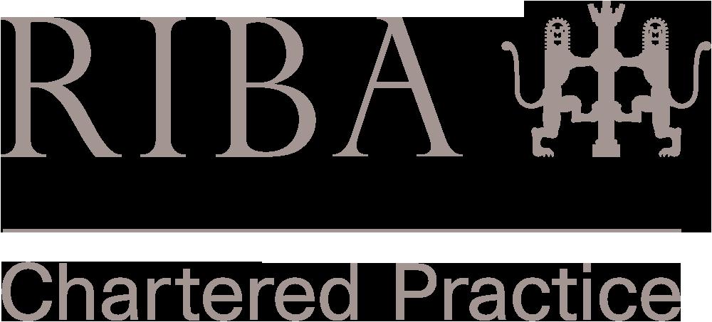 RIBA Chartered Practise logotype linking to RIBA website