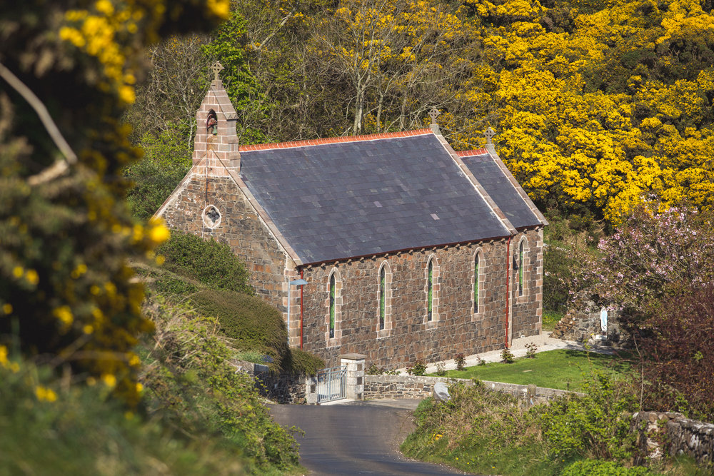 rathlin church