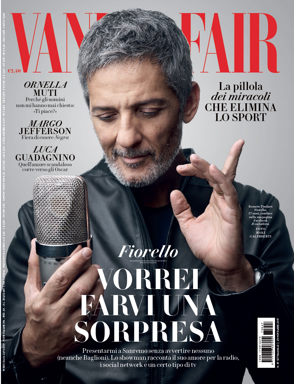 VANITY FAIR ITALIA COVER - FIORELLO — cleo casini