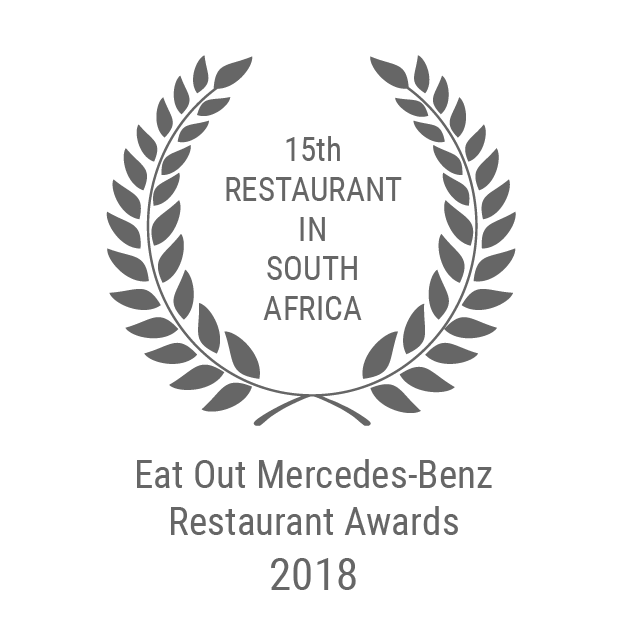 15 Eat Out Mercedes-Benz Restaurant Award