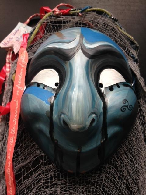 Boudica Mask Herts Hidden Heroines