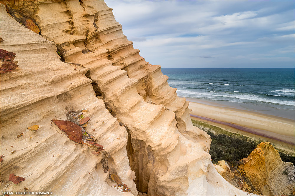 The Pinnacles auf Fraser Island