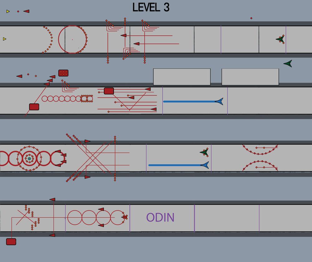 Level Design Pre-prod Document for Level 3.