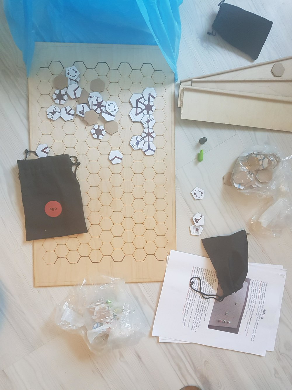 All the content related to the newest prototype