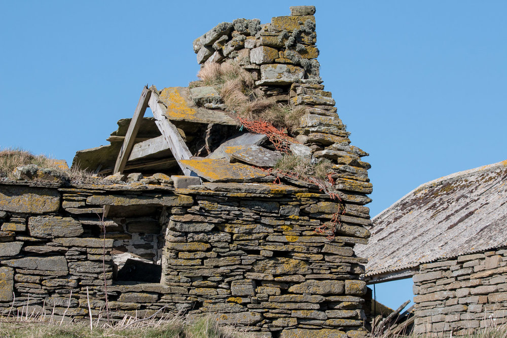 Ruined house on Rousay
