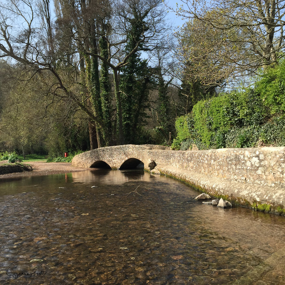 Gallox Bridge in Dunster
