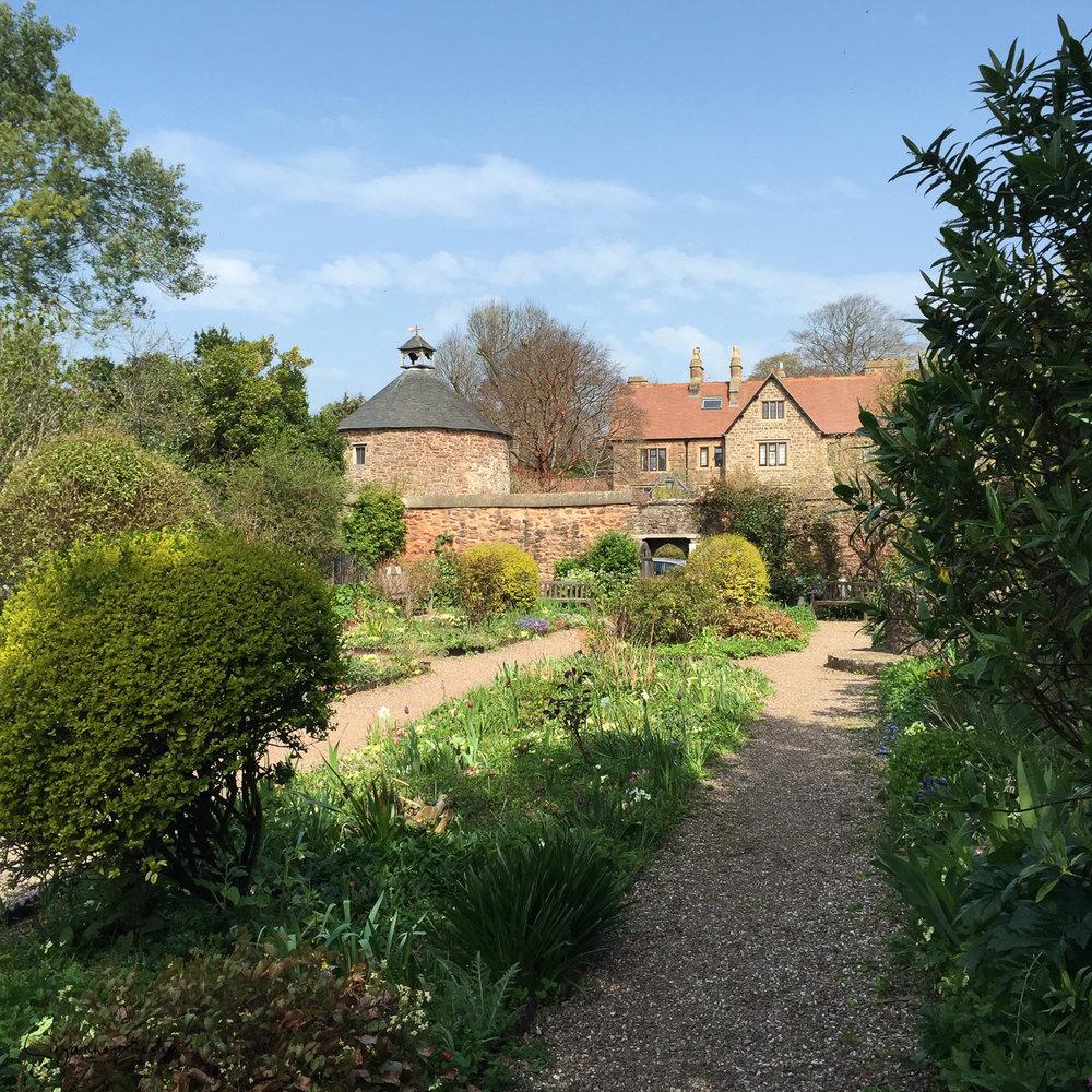Gardens in Dunster