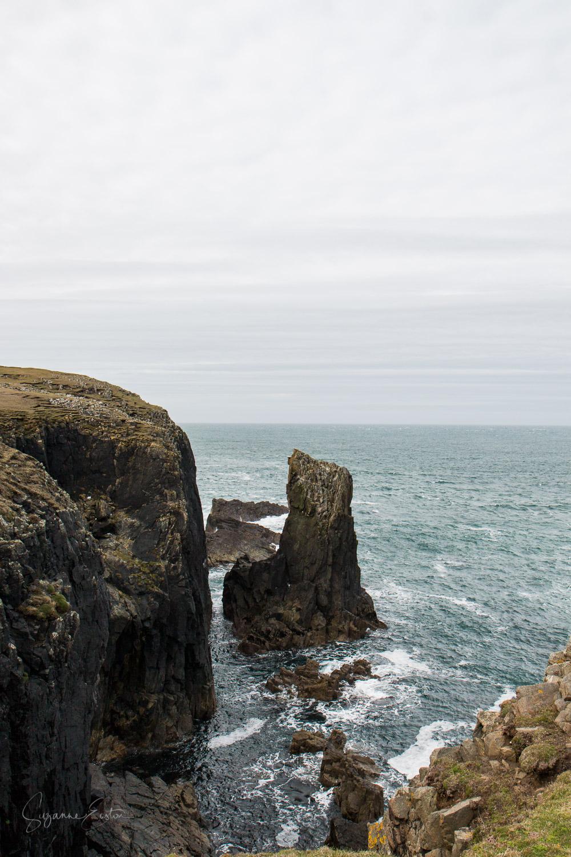 Rocks below the Butt of Lewis Lighthouse