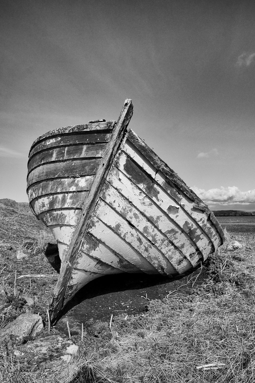An old boat on the Isle of Lewis