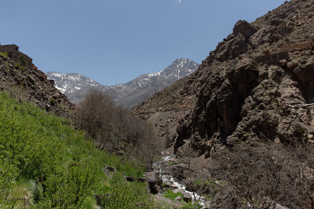 River valley at Imlil