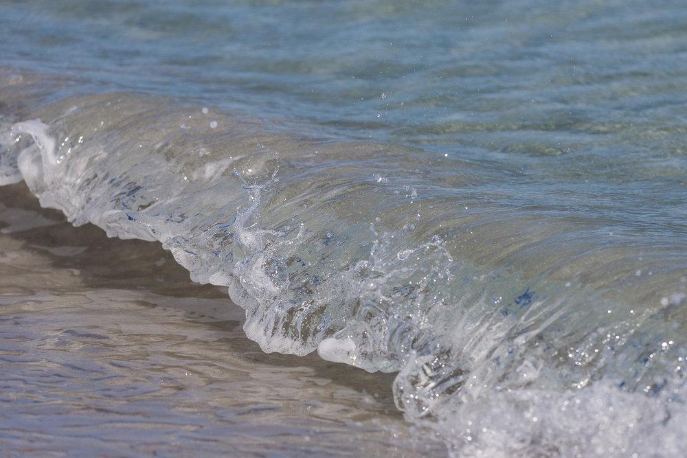 Sanday Orkney wave breaking