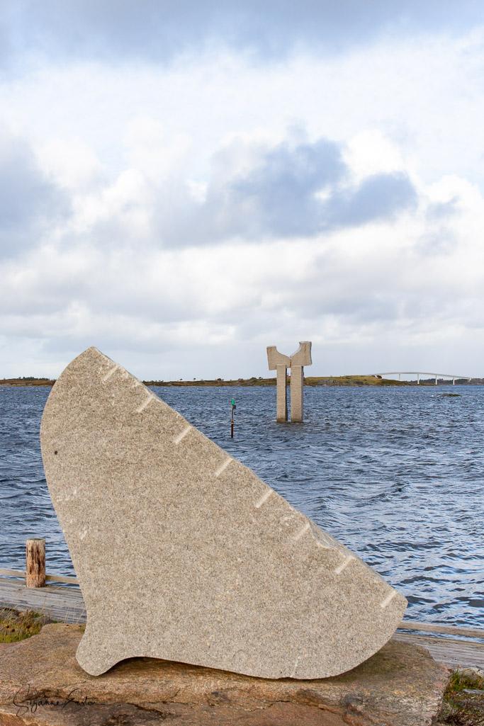 the memorial to Oscar Tyringham in Hopen Norway