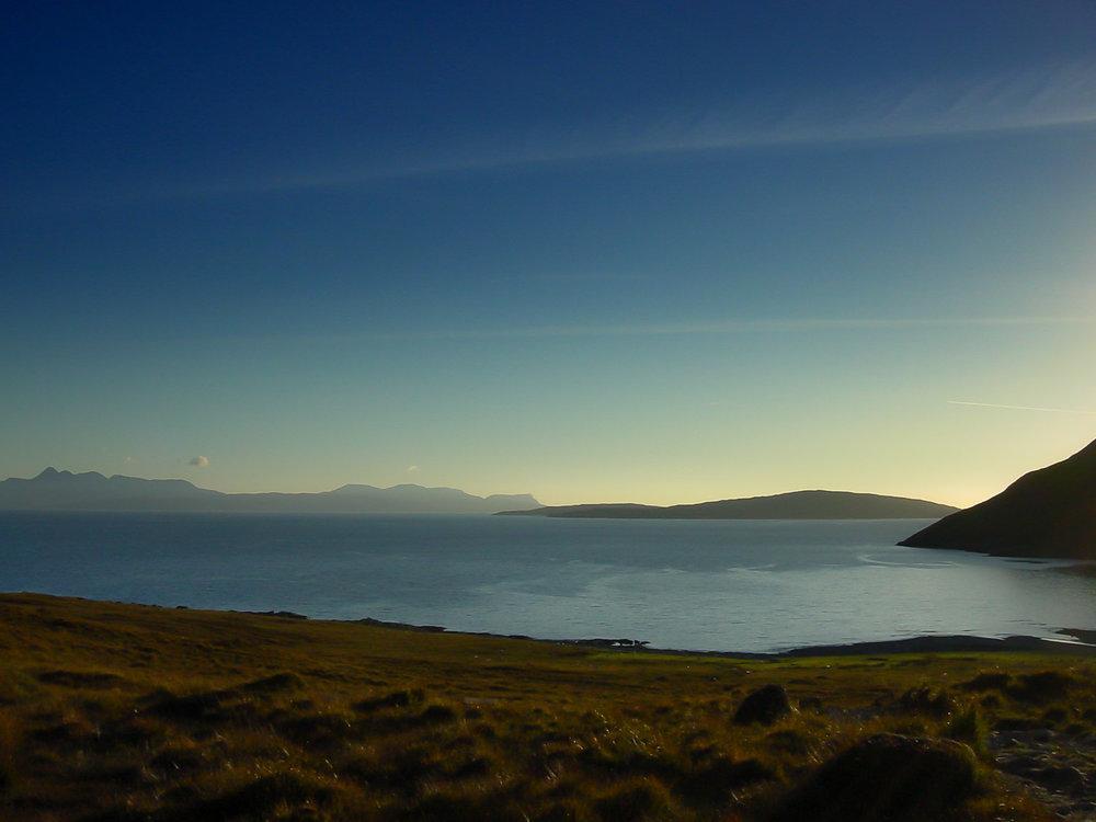 Sunset at Loch Scavaig