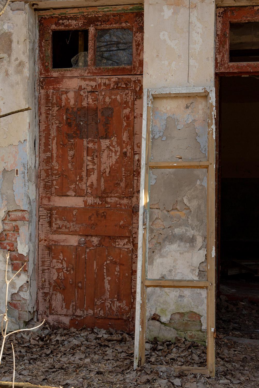 Door and Ladder